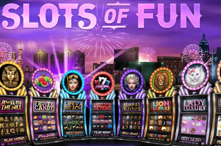 Slots of Fun: choose the coolest and win